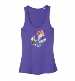 Tank Top RDD bunt fairtrade