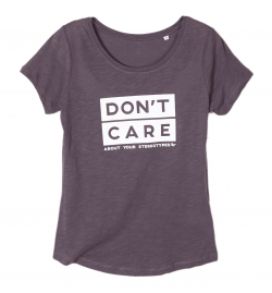 Slub T-Shirt DON'T CARE