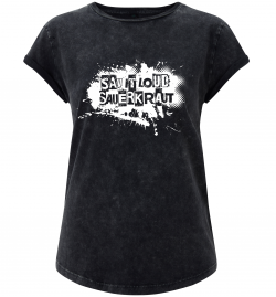 Rolled Sleeve T-Shirt SAUERKRAUT