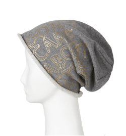 Beanie grey&gold | Limited Edition