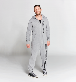 Jumpsuit grey&black | Limited Edition