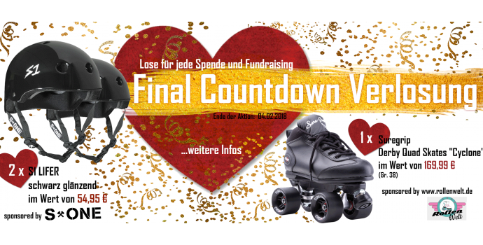 Final Countdown Verlosung
